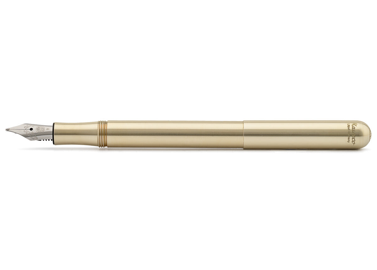 Kaweco Liliput solid brass fountain pen - NOMADO Store