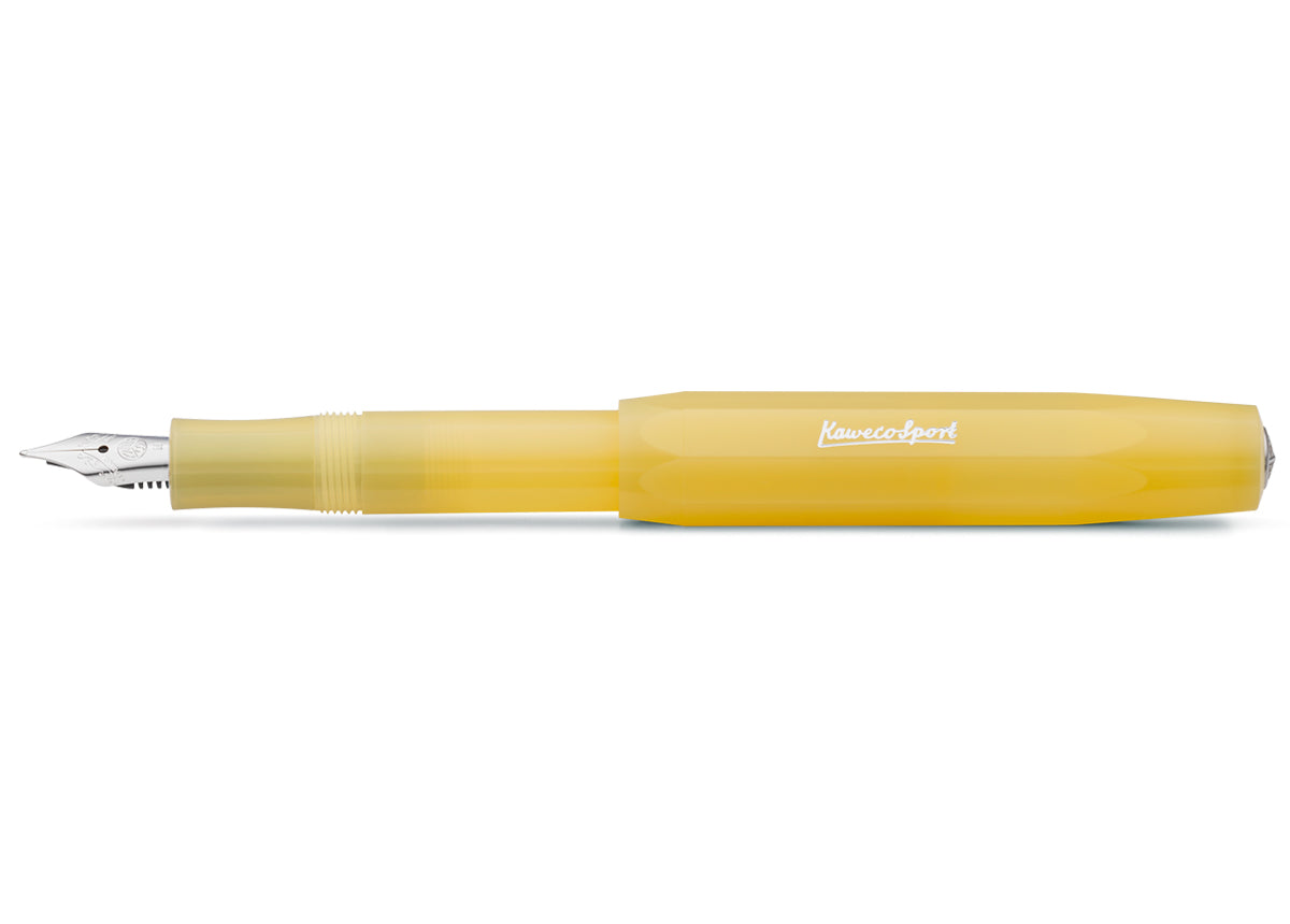 Kaweco Frosted Sport Sweet Banana fountain pen - NOMADO Store