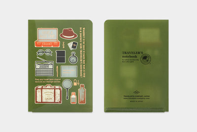Traveler's Company Clear Folder 2020 (Passport size) - NOMADO Store