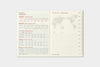 2021 Traveler's Notebook (Passport Size) - Monthly Diary Refill. PRE-ORDER