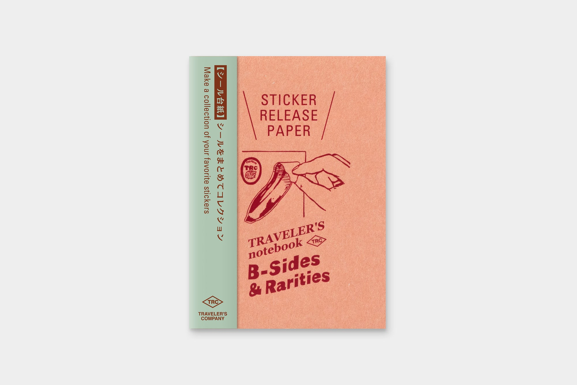 TRAVELER'S LTD Edition - Passport Size Refill Sticker Release Paper
