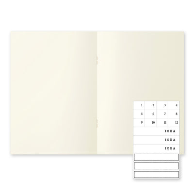 Midori MD Notebook Light - (A5) - Blank 3 pack - NOMADO Store