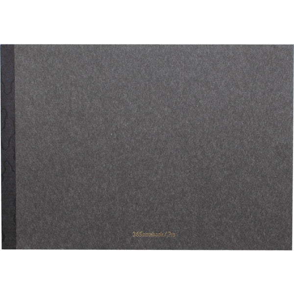 "365notebook Pro ""sumi"" notebook (charcoal) 2 sizes - NOMADO Store"