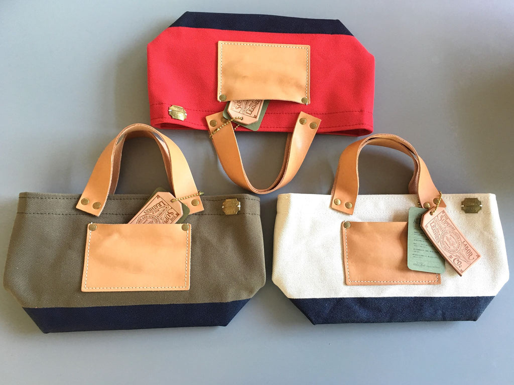 The Superior Labor Engineer Bag Petite Khaki/Navy paint - NOMADO Store