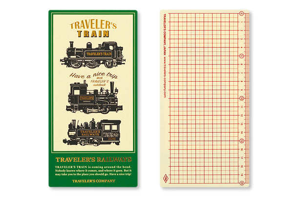 2018 Diary Traveler's Notebook Plastic sheet PRE-ORDER