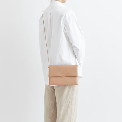 i ro se Seamless Shoulder Case M Size (Nude/natural) - NOMADO Store
