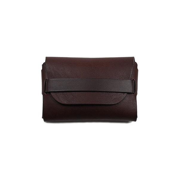 .Urukust STC-02 Card Case (Dark Brown) - NOMADO Store