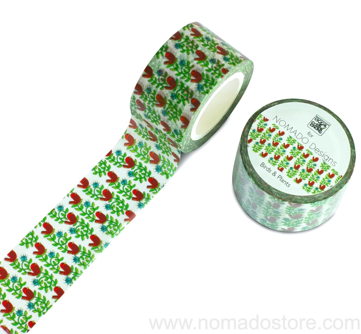 Bocal de Cornichons for Nomado Designs Birds & Plants Washi Tape