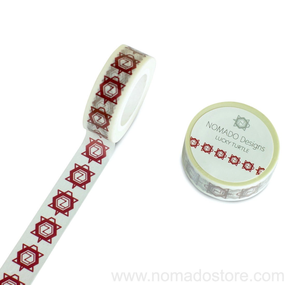 Nomado Designs Lucky Turtle Washi Tape