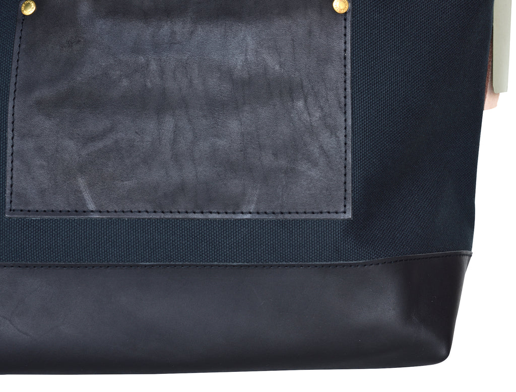Superior Labor x Nomado Store Engineer Shoulder Bag Compact SE (black/leather) PRE-ORDER