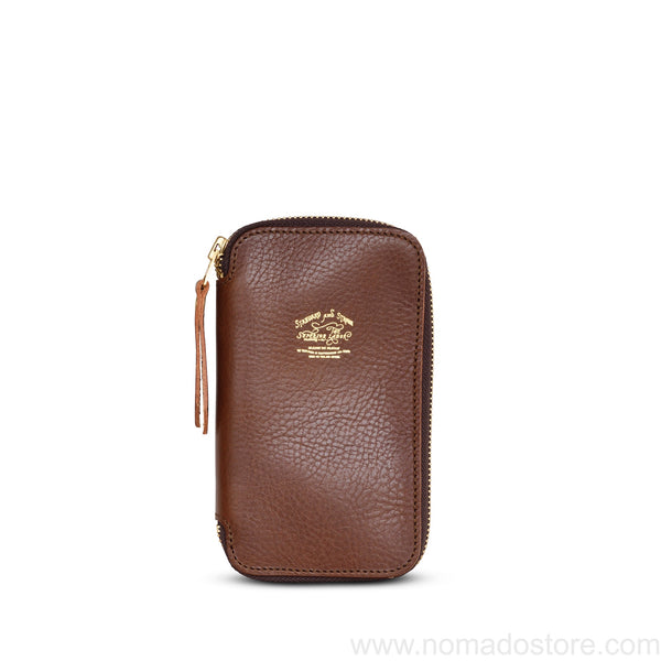 The Superior Labor Leather Zip Pen Case (3 colours)