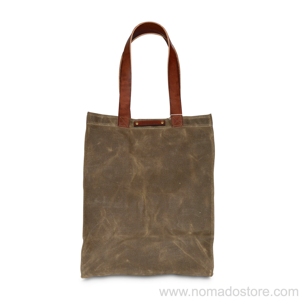Peg and Awl The Marlowe Carryall - Truffle/Brown - NOMADO Store