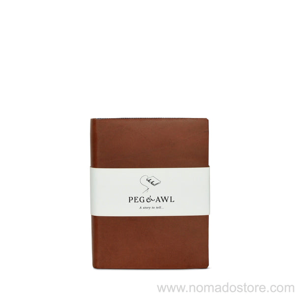 Peg & Awl The Harper Journal (Brown/Large) - NOMADO Store