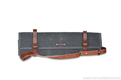 Peg and Awl Uma Yoga Mat Carrier - Slate/Brown - NOMADO Store