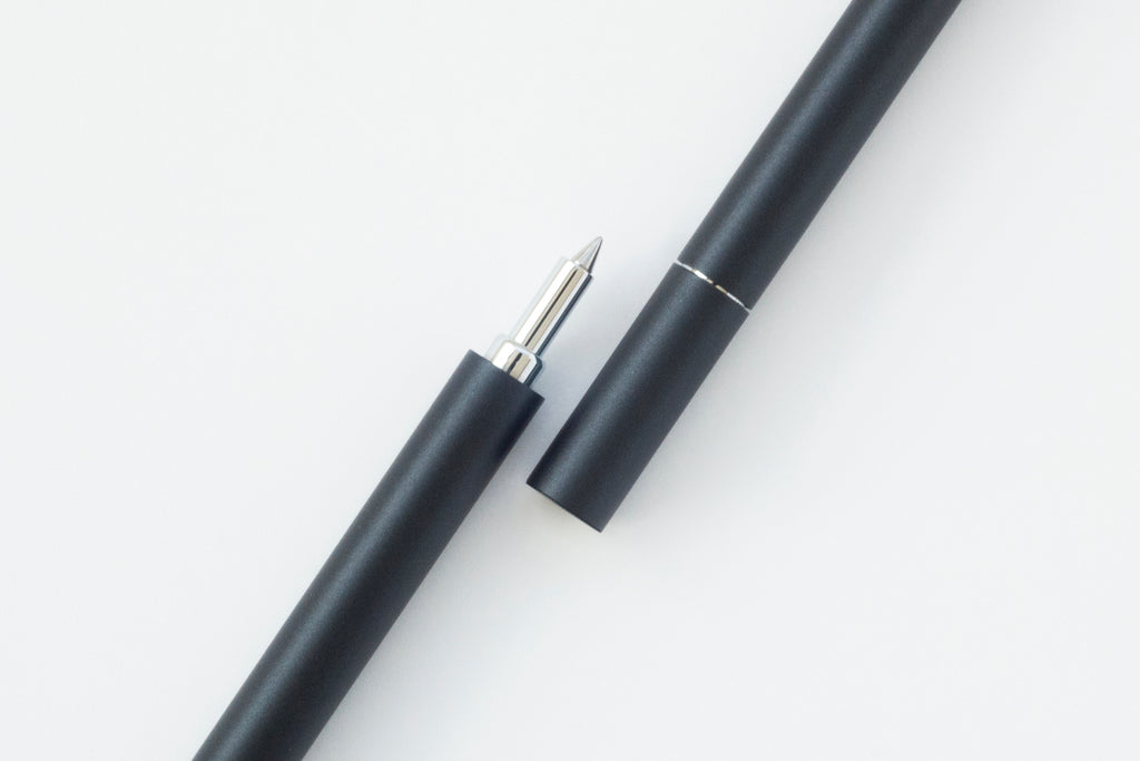 TEN Stationery Shell Rollerball Pen Inky Black - NOMADO Store