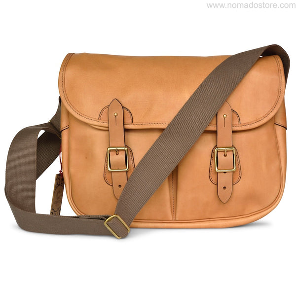 CROOTS DALBY VINTAGE LEATHER CARRYALL BAG (L) Natural - NOMADO Store