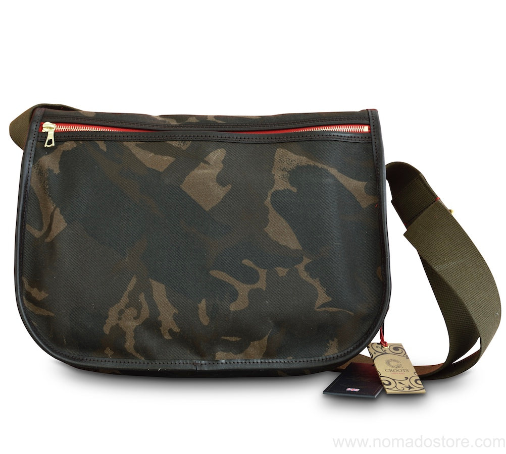 CROOTS DALBY CARRYALL BAG (L) WAXED CAMOUFLAGE