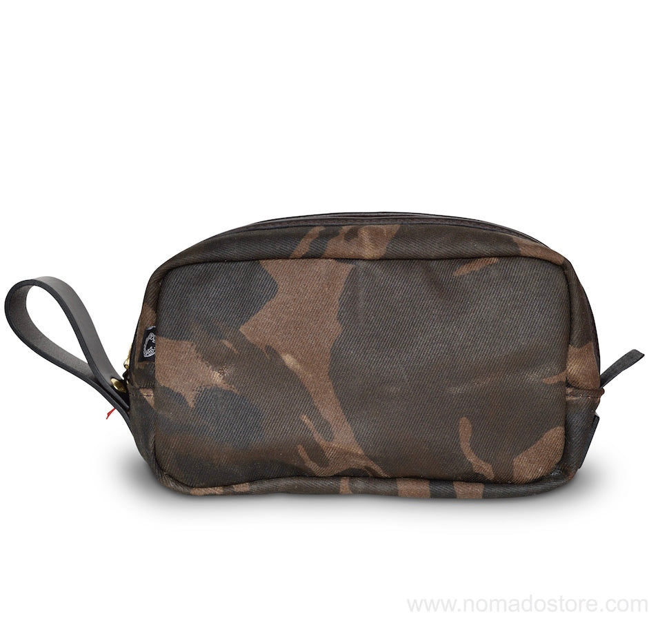 CROOTS WAXED CAMOUFLAGE RANGE WASH BAG - NOMADO Store