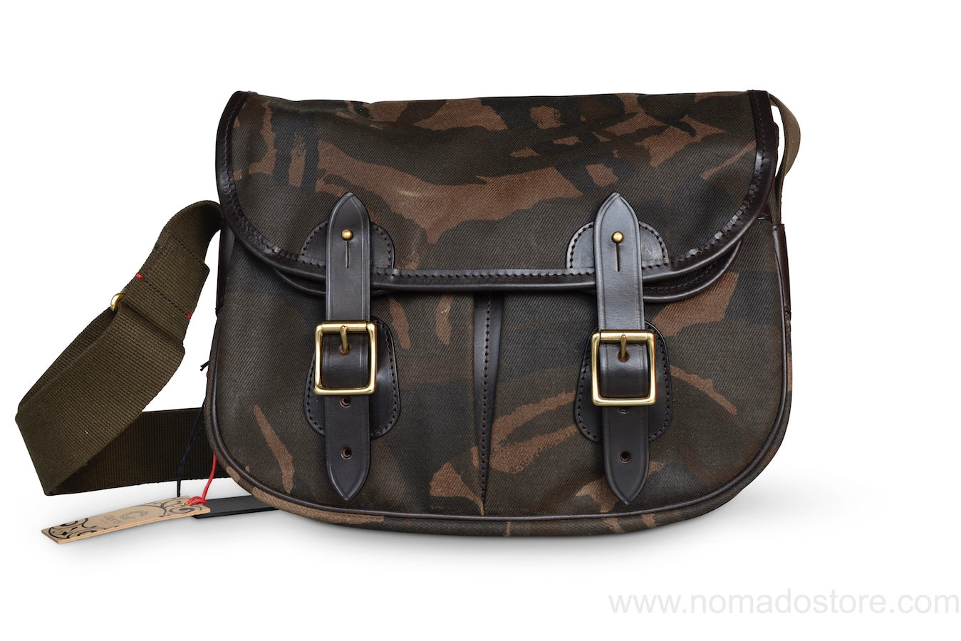 CROOTS DALBY CARRYALL BAG (M) WAXED CAMOUFLAGE - NOMADO Store