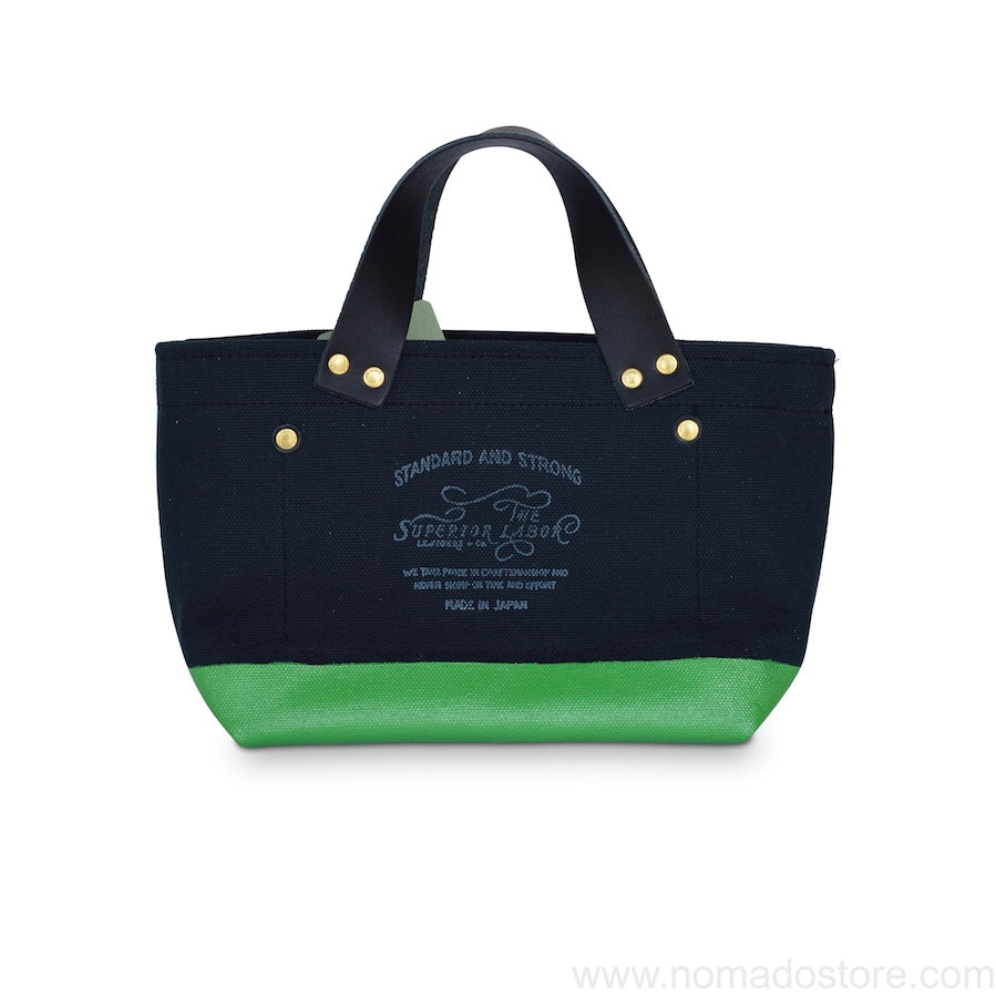 The Superior Labor Engineer Bag Petite Black/Green Paint - NOMADO Store