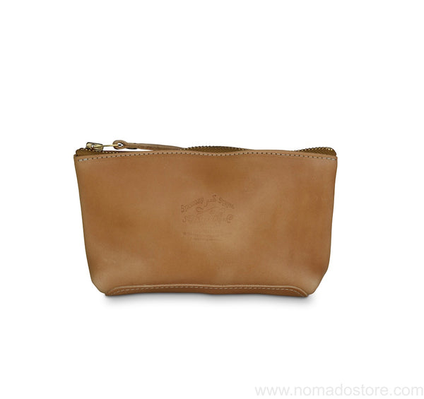 The Superior Labor leather pouch Size S (navy, natural, dark brown, camel) - NOMADO Store