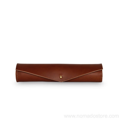 High Meadows Barrel Pencil Case (3 colours) - NOMADO Store
