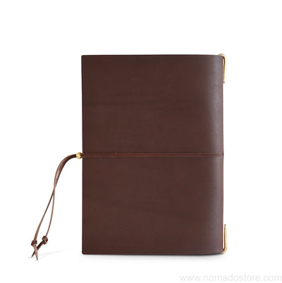 "The Superior Labor A5 ""Re-use"" Leather Notebook Cover (2 colours) PRE-ORDER - NOMADO Store"