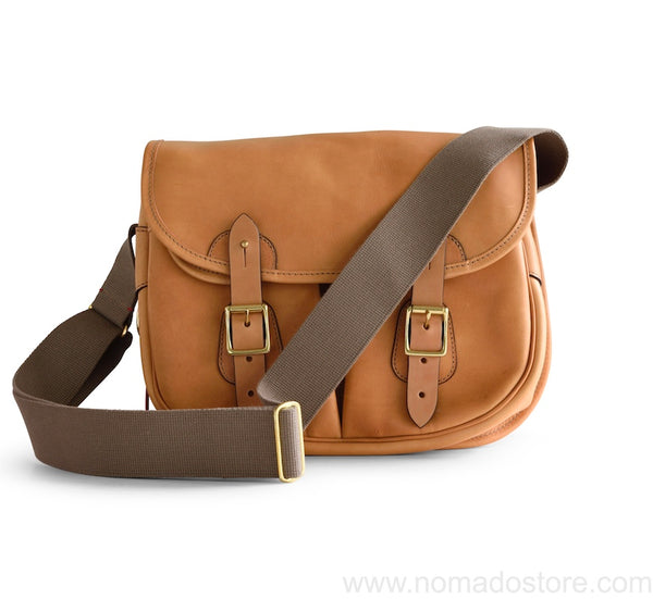 CROOTS DALBY VINTAGE LEATHER CARRYALL BAG (M) Natural - NOMADO Store