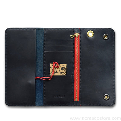 CROOTS VINTAGE LEATHER WORKER WALLET (3 colours) - NOMADO Store