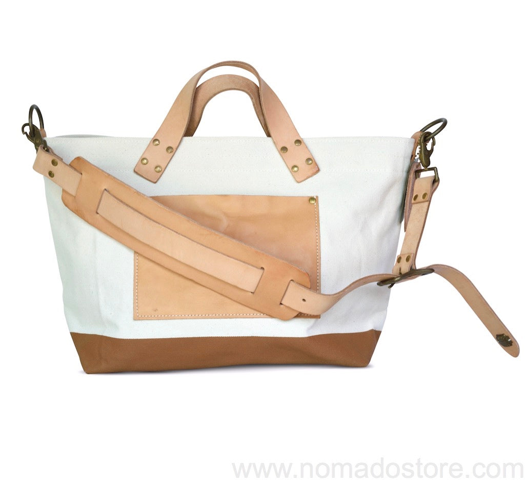 The Superior Labor engineer shoulder bag S natural body tan paint - NOMADO Store