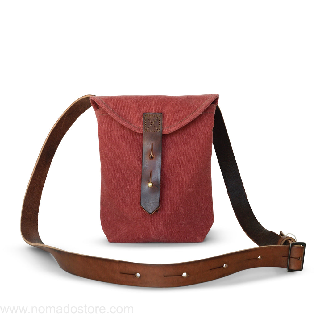 Peg and Awl The Small Hunter Satchel - Radish - NOMADO Store