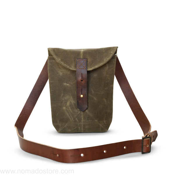 Peg and Awl The Small Hunter Satchel - Truffle - NOMADO Store