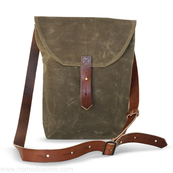 Peg and Awl The Hunter Satchel - Truffle - NOMADO Store
