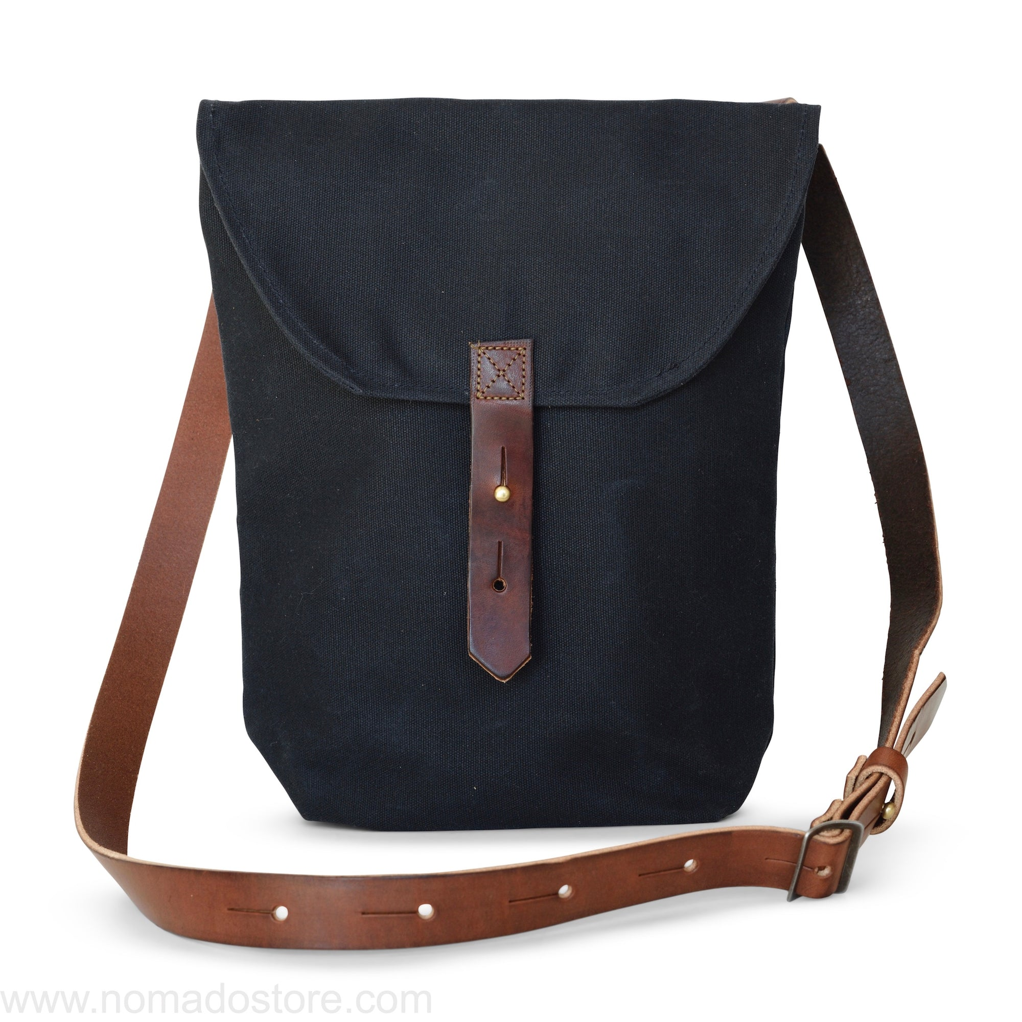 Peg and Awl The Hunter Satchel - Coal - NOMADO Store