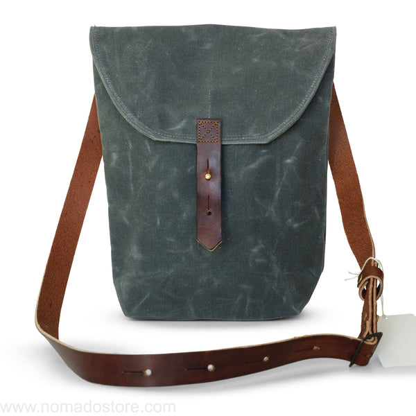 Peg and Awl The Hunter Satchel - Slate - NOMADO Store