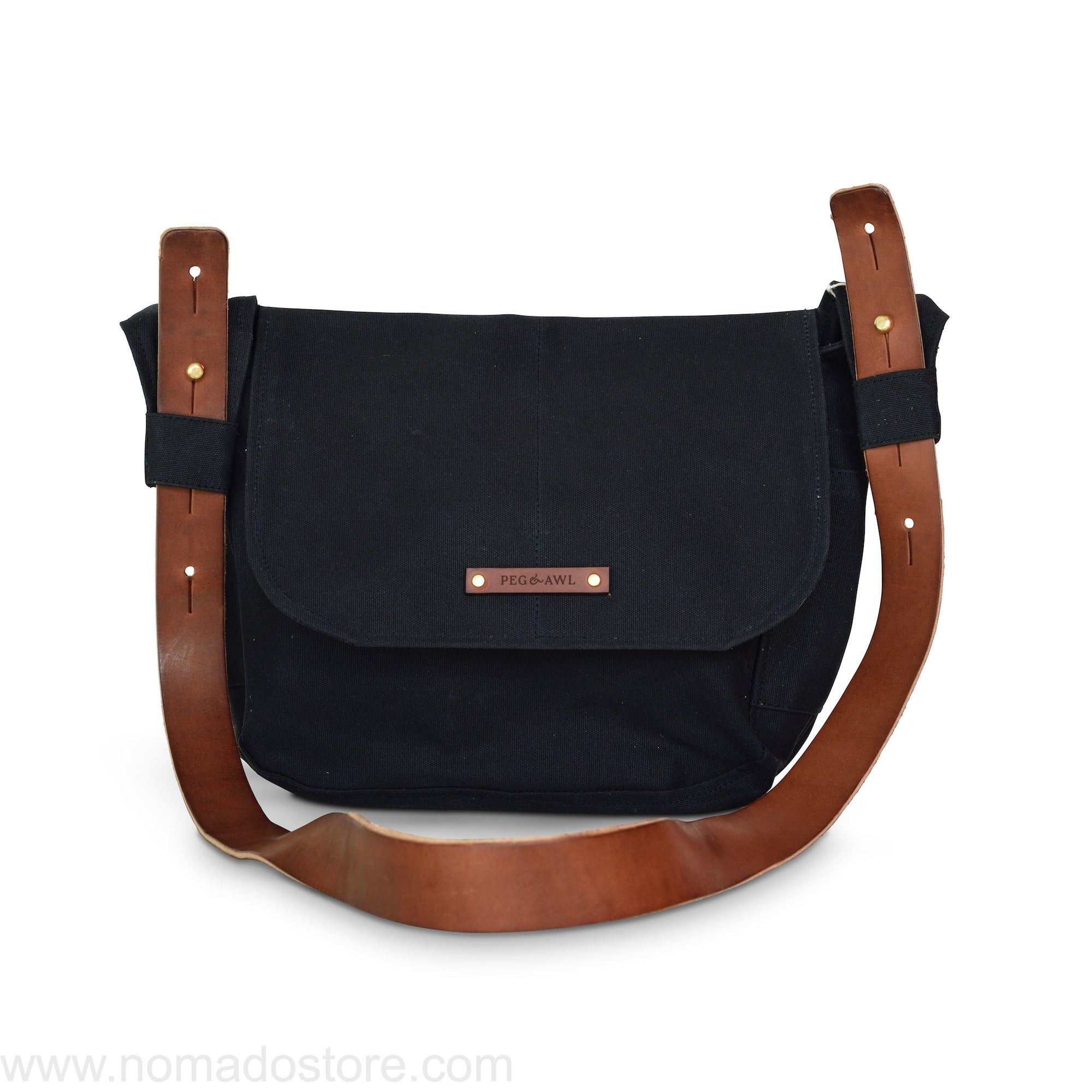 Peg and Awl The Finch Satchel - Coal - NOMADO Store