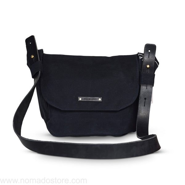 Peg and Awl All Black The Finch Satchel - Standard - NOMADO Store