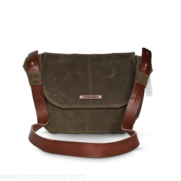 Peg and Awl The Finch Satchel - Truffle