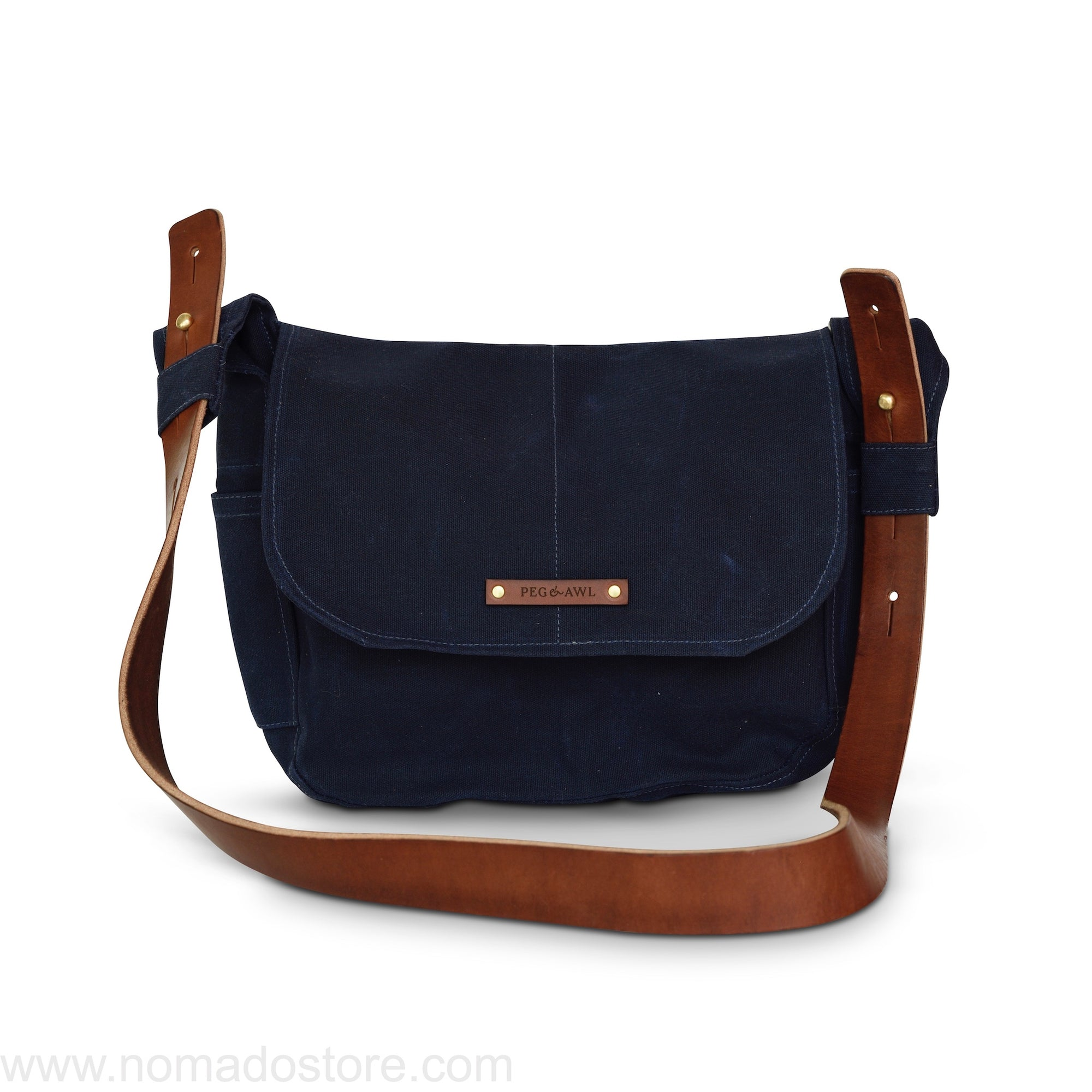 Peg and Awl The Finch Satchel - Rook - NOMADO Store