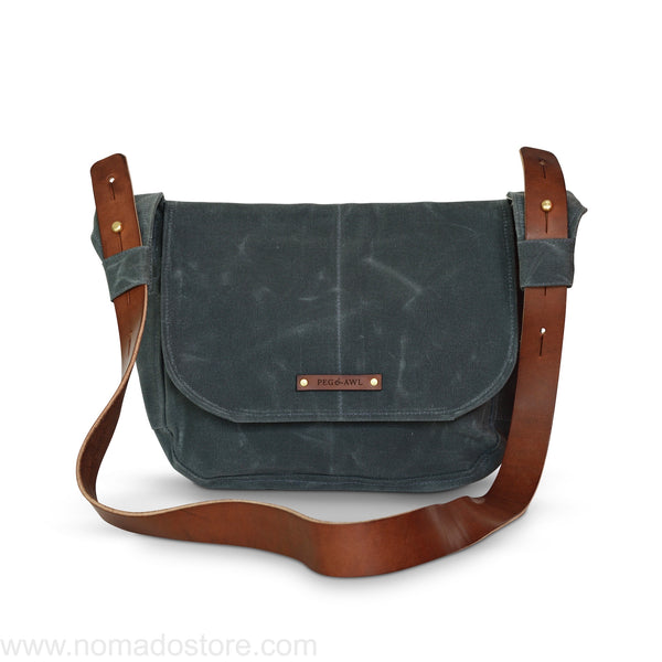Peg and Awl The Finch Satchel - Slate