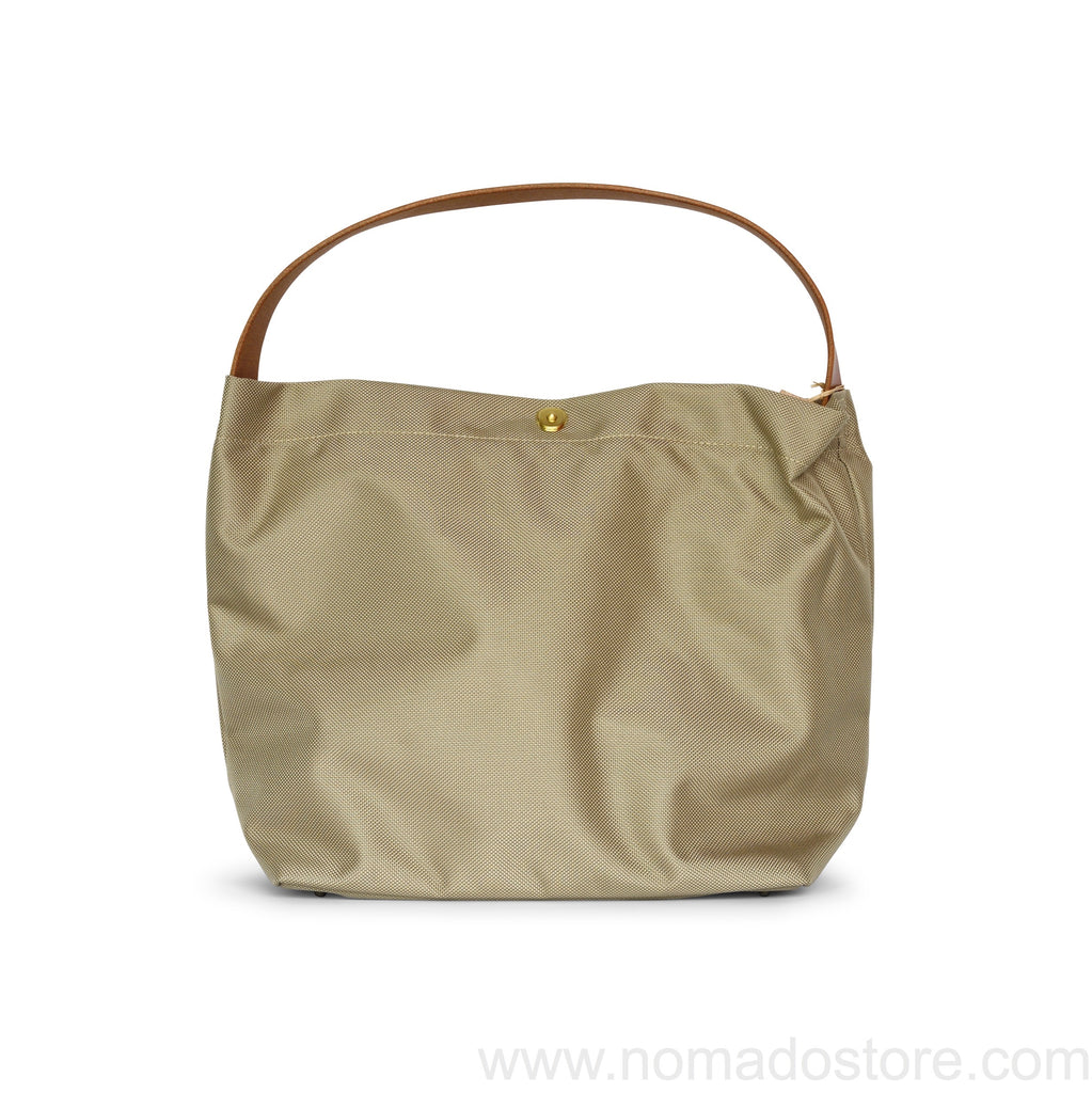 Marineday Minifish 66Nylon Shoulder Bag (Beige) - NOMADO Store