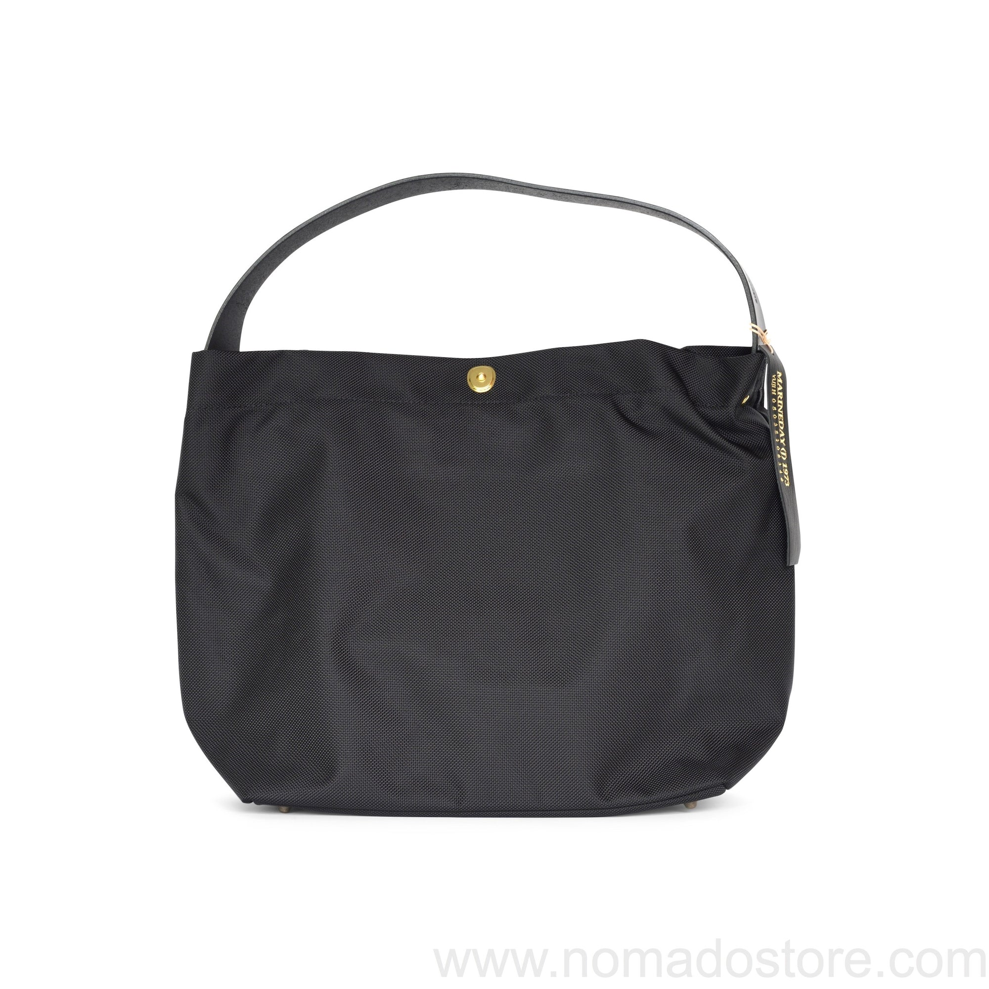 Marineday Minifish 66Nylon Shoulder Bag (Black) - NOMADO Store
