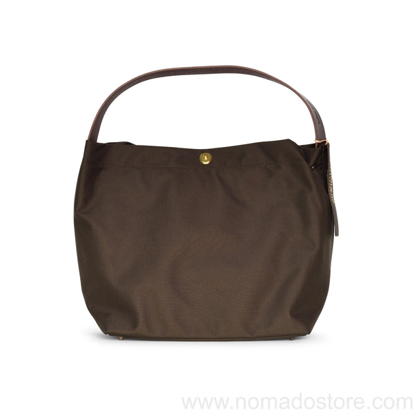 Marineday Minifish 66Nylon Shoulder Bag (Choco) - NOMADO Store
