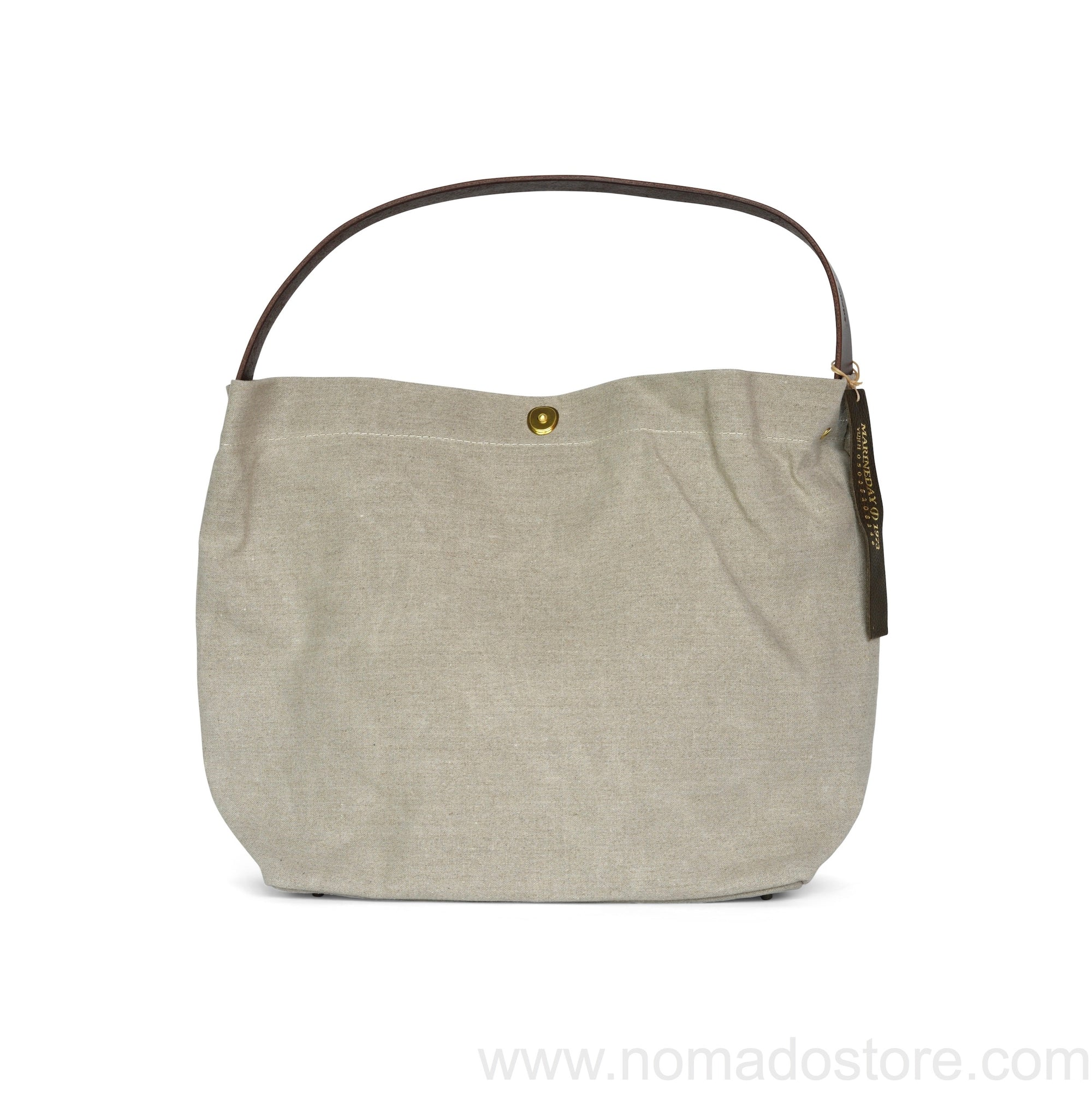 Marineday Minifish Linen Canvas Shoulder Bag (Natural) - NOMADO Store