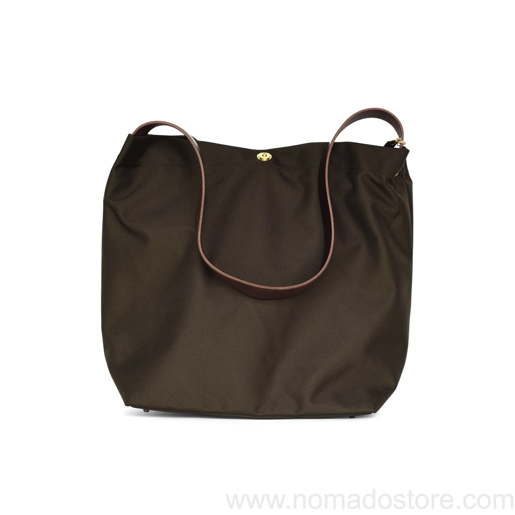 Marineday Fishfly 66Nylon Shoulder Bag (Choco) - NOMADO Store
