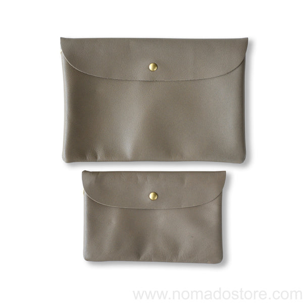 Marineday Robinson Pouch Greige (2 sizes) - NOMADO Store