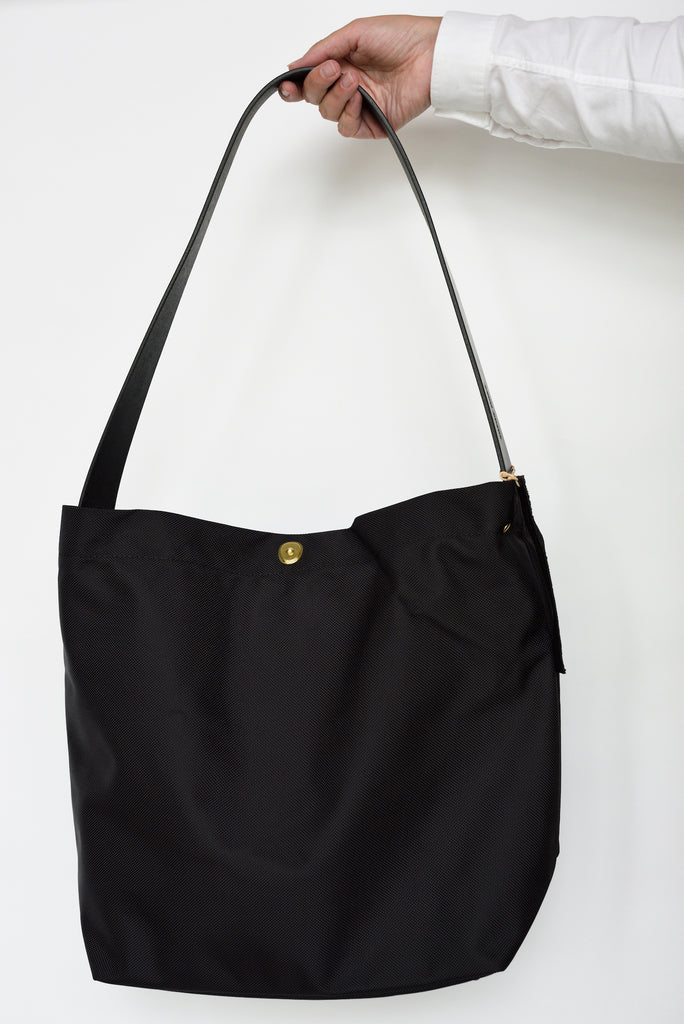 Marineday Fishfly 66Nylon Shoulder Bag (Black) - NOMADO Store