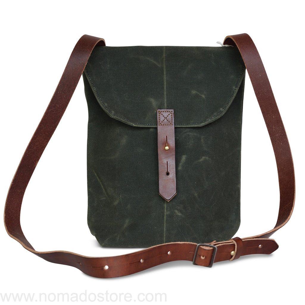 Peg and Awl The Hunter Satchel - Moss - NOMADO Store