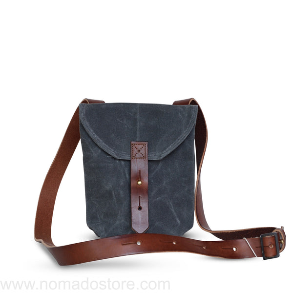 Peg and Awl The Small Hunter Satchel - Slate - NOMADO Store