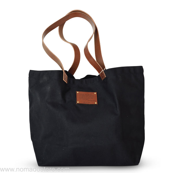 Peg and Awl The Seaside Tote - Brown / Emerson Quote